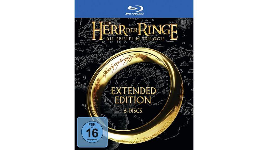 Der Herr der Ringe - Extended Edition Trilogie  [6 BRs]