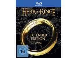 Der Herr der Ringe Extended Edition Trilogie 6 BRs
