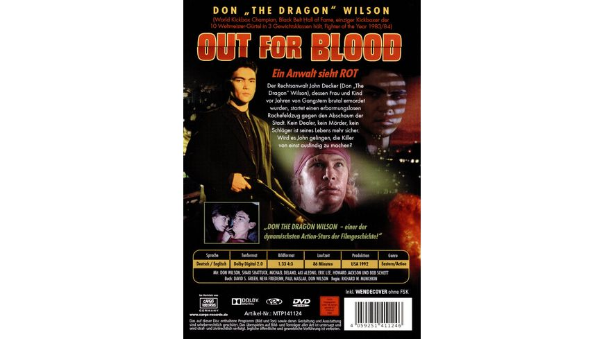 Out for Blood Ein Anwalt sieht rot