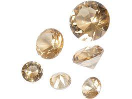 EUROSAND Streudekoration Glas Diamanten
