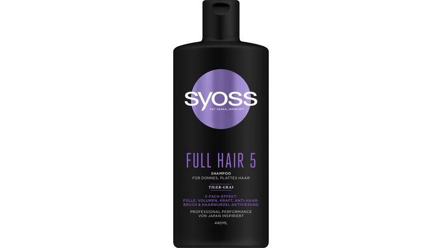 syoss Shampoo Full Hair 5