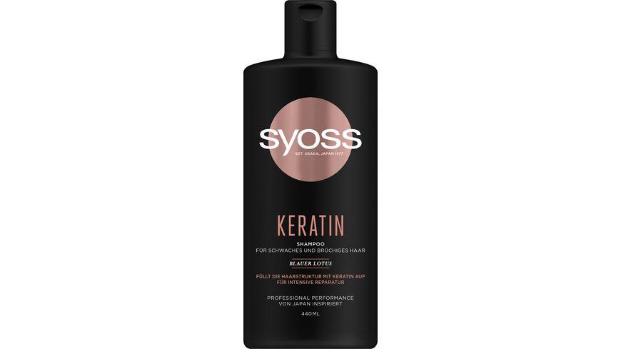 syoss Shampoo Keratin