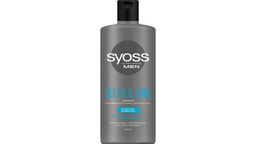 syoss Shampoo Men Clean Cool