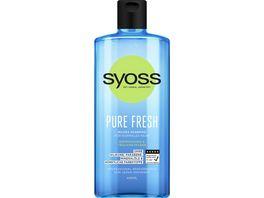 syoss Shampoo Pure Fresh