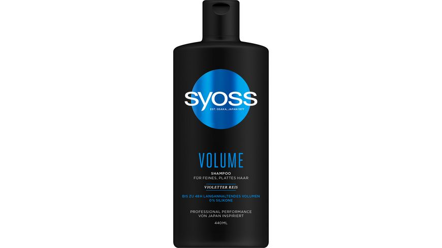 syoss Shampoo Volume