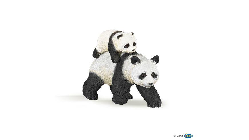 Papo Panda mit Jungtier 50071
