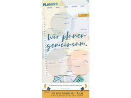 BRANDNER Familienplaner Zettelkalender 2021