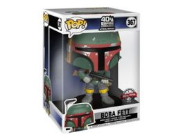 Funko POP Star Wars The Empire Strikes Back Bobba Fett Bobble Head Figur Special Edition 10 Super Sized