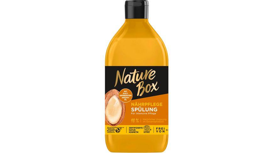 NATURE BOX Nährpflege Spülung Argan-Öl