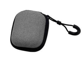 Xlayer HardCase Fabric Protection Case for In Ear Headsets Grey