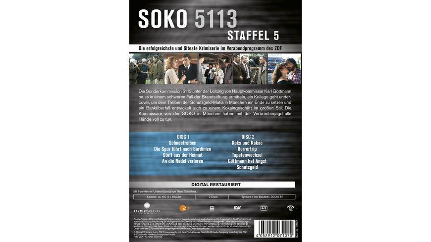 SOKO 5113 Staffel 5 2 DVDs