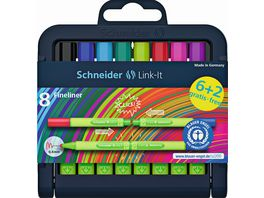 Schneider Fineliner Link It 6 2er Etui