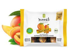 Yammbits Bio Fruchtkugeln aufregende Aprikose Mango