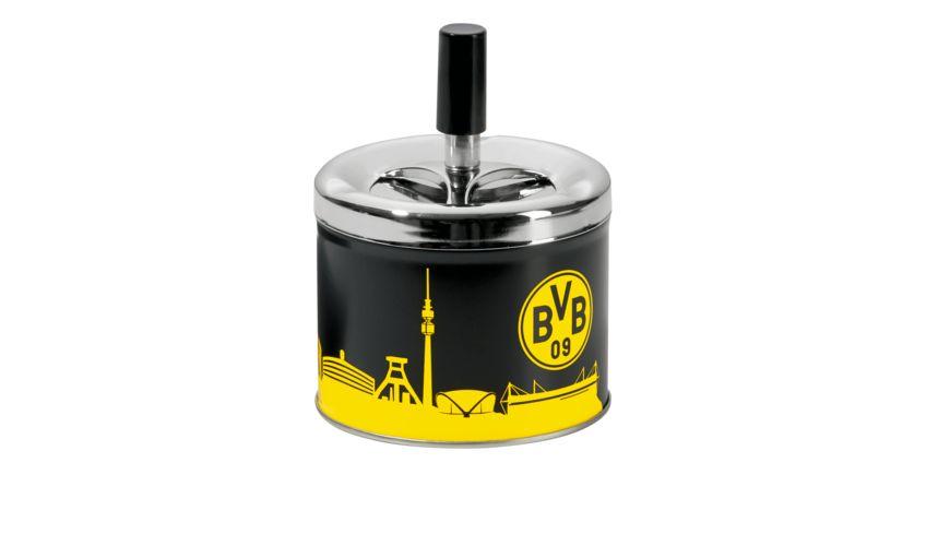 BVB-Aschenbecher mit Deckel