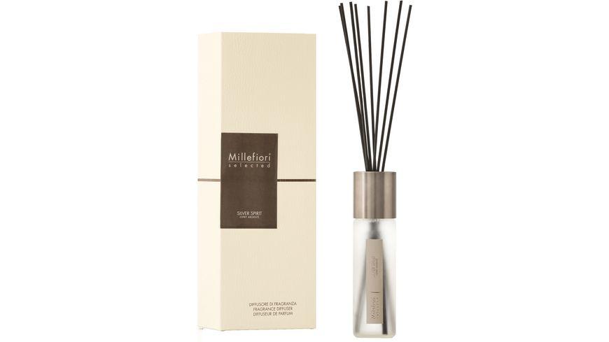 Millefiori Selected Reed Diffuser Silver Spirit
