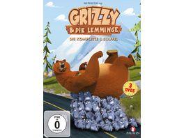 Grizzy Die Lemminge Die komplette Staffel 1 78 Episoden 3 DVDs