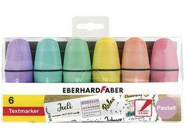 EBERHARD FABER Textmarker 6er Etui Pastell