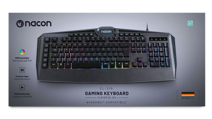 PC Gaming Keyboard CL 210DE