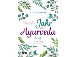 Durch s Jahr mit Ayurveda Planer 2021