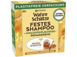 Garnier Wahre Schaetze Festes Shampoo Honig Schaetze