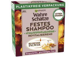 Garnier Wahre Schaetze Festes Shampoo mit Bio Ingwer