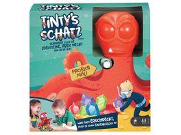 Mattel Games Tinty s Schatz Kinderspiel Geschicklichkeitsspiel