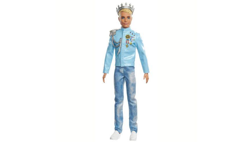 "Mattel - Barbie - ""Prinzessinnen Abenteuer"" Prinz Ken-Puppe"