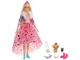 Barbie Prinzessinnen Abenteuer Puppe blond Prinzessin Puppe Anziehpuppe