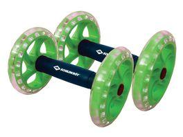 Schildkroet Fitness Dual Core Wheels Dual Roller Bauchtrainer