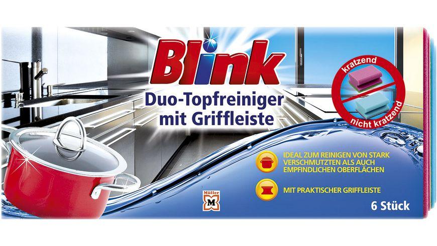 Blink Topfreiniger mit Griff 6er Banderole