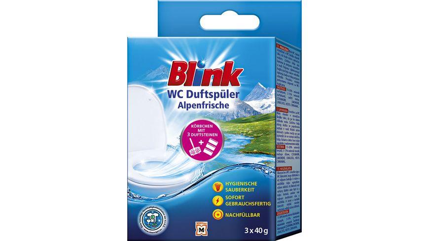 Blink WC Duftspüler Alpenfrische