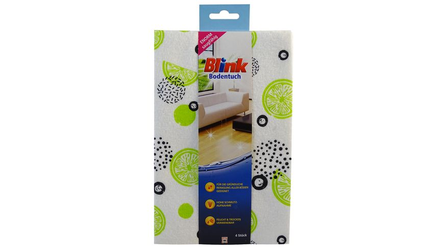 Blink Bodentuch 4er-Packung, 50x47 cm