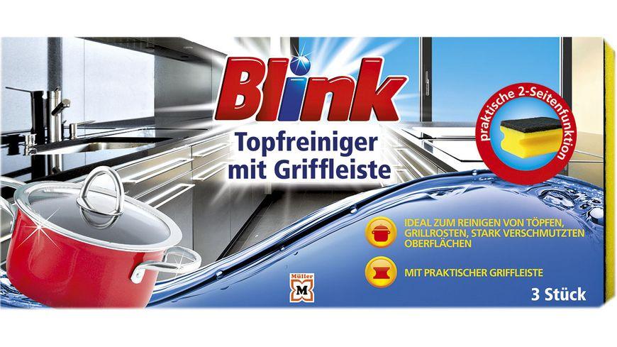 Blink Topfreiniger 3er Pack mit Griffleiste