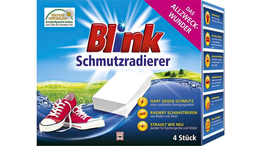 BLINK Magic Clean Schmutzentferner 4er Packung