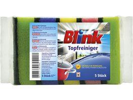 Blink Topfreiniger ohne Griff 5er Packung
