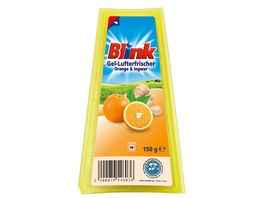 Blink Gel Lufterfrischer Orange Ingwer