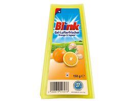 Blink Gel Lufterfrischer Orange Ingwer