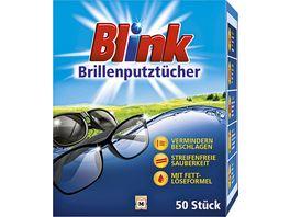 Blink Brillenputztuecher 50 Stueck