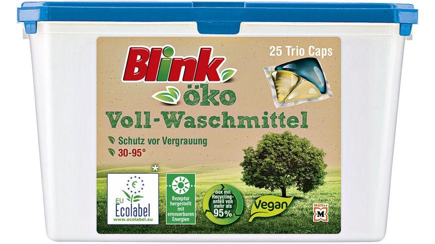 Blink Oeko Vollwaschmittel Trio Caps