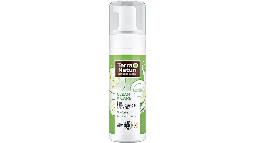 Terra Naturi CLEAN CARE 3 in 1 Reinigungsschaum