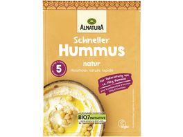 Alnatura Schneller Hummus natur