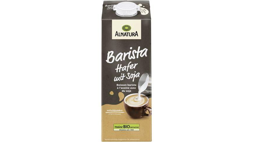 Alnatura Hafer Drink Barista mit Soja 1L
