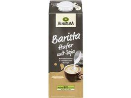 Alnatura Bio Hafer Drink Barista mit Soja 1L