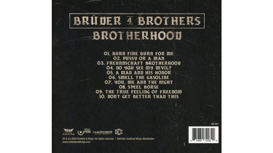 Brotherhood Digipak