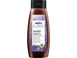 AVEO Prachtstuecke Vitalisierendes Shampoo Lavendel Gruener Tee