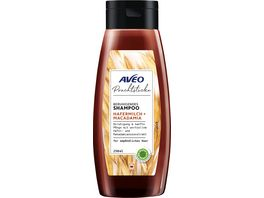 AVEO Prachtstuecke Beruhigendes Shampoo Hafermilch Macadamia