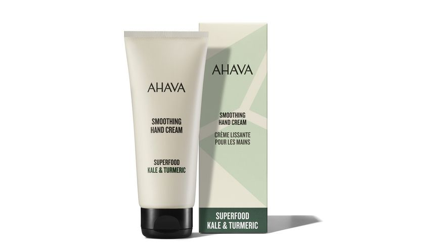 AHAVA Superfood Kale & Turmeric Hand Cream