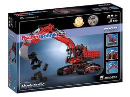 fischertechnik PROFI Hydraulic Bagger Cooles und kraftvolles Bagger Spielzeug mit Hydraulik Funktion