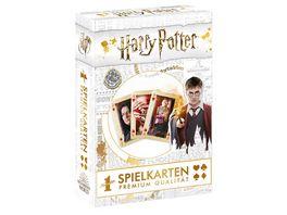 Winning Moves Number 1 Spielkarten Harry Potter gold