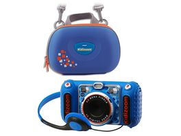 VTech Kidizoom Duo DX mit Tasche blau